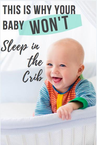 baby won't sleep in crib
